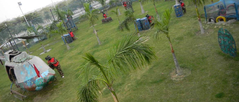Paintball parks in delhi