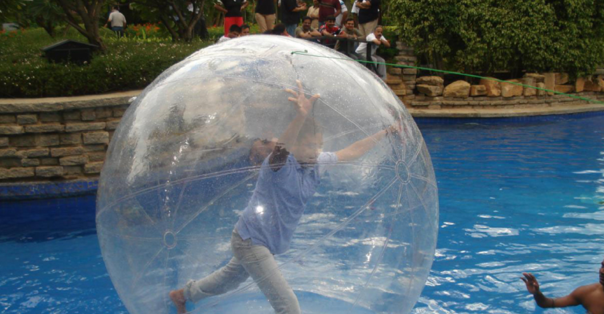 aquazorbing in delhi � adventure park in delhi